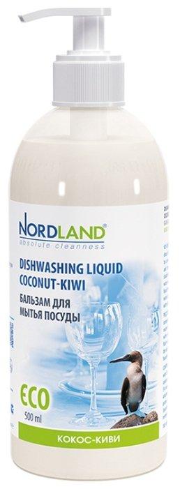 Nordland Бальзам для мытья посуды Кокос киви