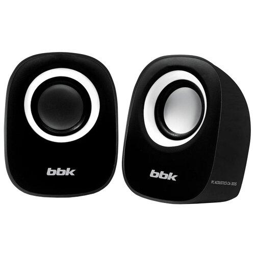 цена на Компьютерная акустика BBK CA-303S черный / белый
