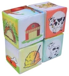 Кубики Дельфин Животные Д-306-15