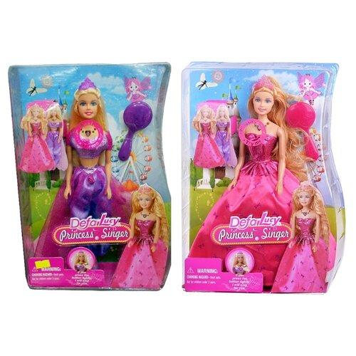 Купить Интерактивная кукла Defa Lucy Поющая принцесса 29 см 8265, Куклы и пупсы