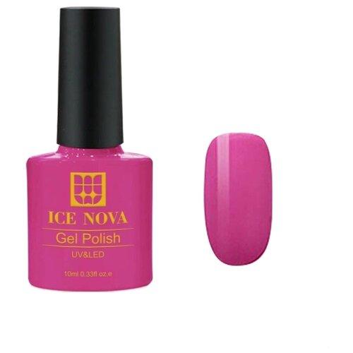 Гель-лак для ногтей ICE NOVA Gel Polish, 10 мл, оттенок 020 гель лак для ногтей super gel nail polish 12мл 020 urban affair