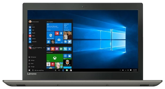 Ноутбук Lenovo IdeaPad 520 15 (Intel Core i3 7100U 2400 MHz/15.6