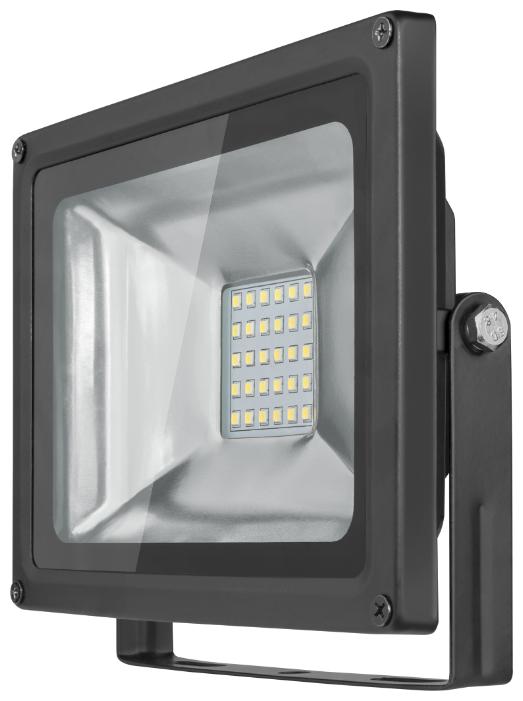 Cветодиодный LED прожектор Онлайт 30W (Вт) 4000K 2400lm IP66 225x185x50 176-264 OFL-30-4K-BL-IP65-LED 71657