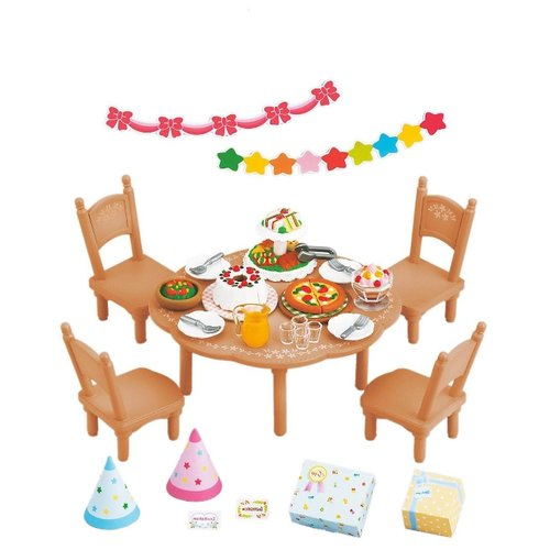 Купить Игровой набор Sylvanian Families Для вечеринки 2932/4269, Игровые наборы и фигурки