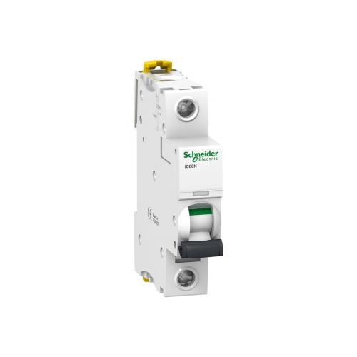 Автоматический выключатель Schneider Electric Acti 9 iC60N 1P (C) 6кА 1 ААвтоматические выключатели<br>