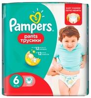 Pampers трусики Pants 6 (16+ кг) 19 шт.