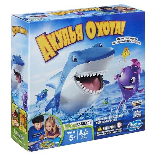 Настольная игра Hasbro Игры Акулья охота 33893, Настольные игры  - купить со скидкой