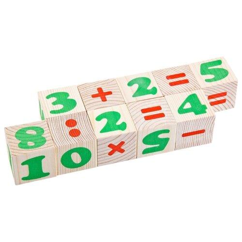 Кубики Томик Цифры 1111-3 кубики томик английский алфавит от 3 лет 12 шт 1111 2