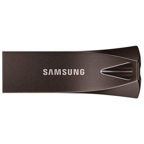 Флешка Samsung BAR Plus 128GB серый титан