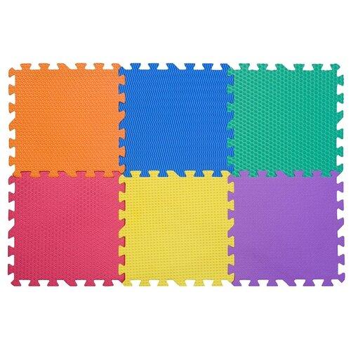 Купить Коврик-пазл массажный Funkids Сенс-12 (KB-049-6-NT-Sense), Игровые коврики