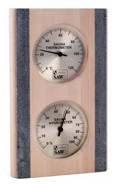 Термогигрометр SAWO 283-THRP (Дерево/Камень, 155x250 мм)