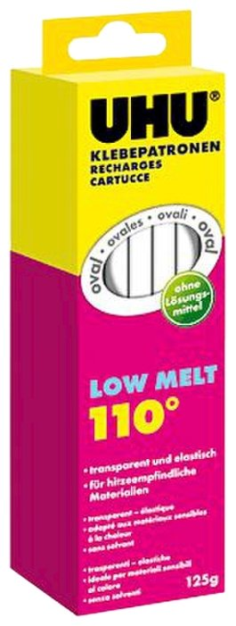 UHU Клеевые стержни LOW MELT, 10 шт