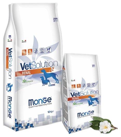 Корм для собак Monge VetSolution Renal для собак