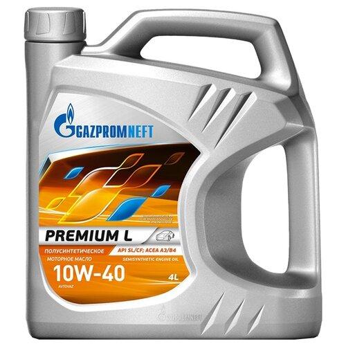 Полусинтетическое моторное масло Газпромнефть Premium L 10W-40, 4 л по цене 1 120