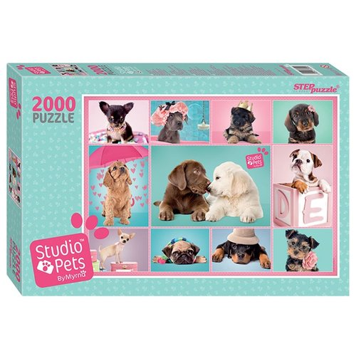 Купить Пазл Step puzzle Studio Pets by Myrna (84300), 2000 дет., Пазлы
