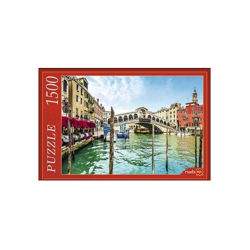 Купить Пазл Рыжий кот Венеция Гранд-канал и мост Риальто (ГИ1500-8457), 1500 дет., Пазлы