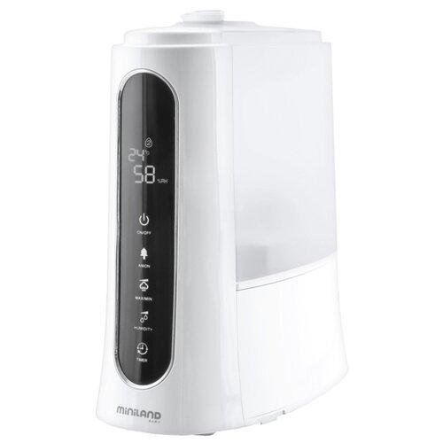 Увлажнитель воздуха Miniland Humitouch Pure, белый/черный увлажнитель воздуха miniland humiplus advanced 89081