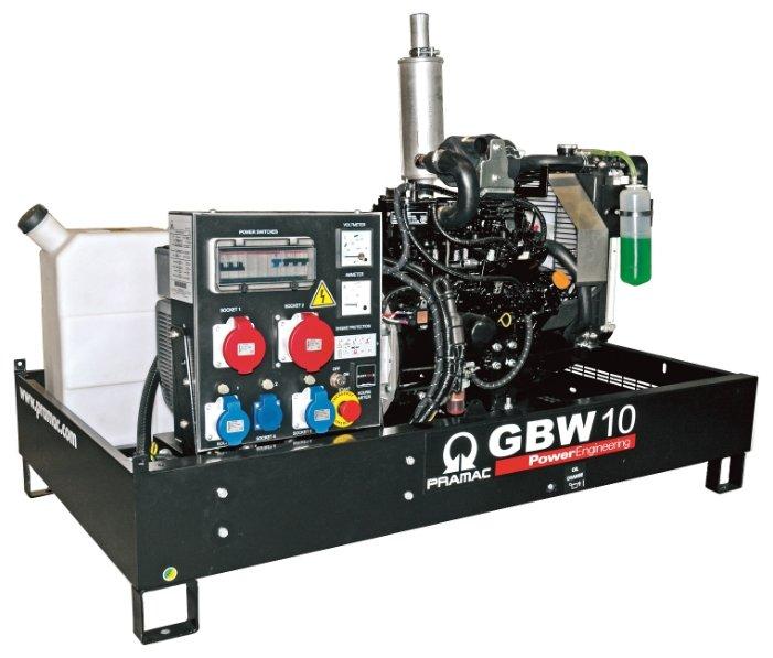 Дизельная электростанция Pramac GBW 10 Y 230V с АВР
