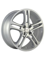 Колесные диски NZ Wheels SH669 6.5x16/5x105 D56.6 ET39 Silver - фото 1