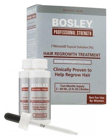 Bosley Усилитель роста волос (Миноксидил 5%) для мужчин