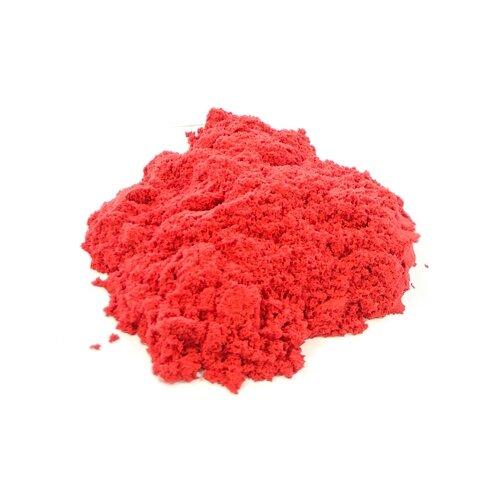 Кинетический песок LORI Домашняя песочница, красный, 0.7 кг, пластиковый контейнер lori домашняя песочница морской песок 0 7 кг