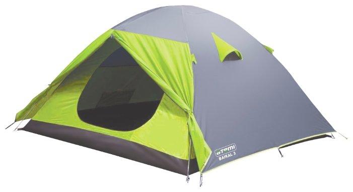 Палатка ATEMI BAIKAL 2 CX — купить по выгодной цене на Яндекс.Маркете