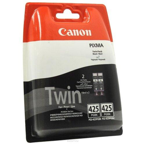 Фото - Набор картриджей Canon PGI-425PGBK Twin Pack (4532B005/4532B007) scee by twin set накидка