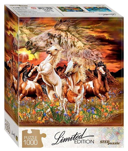 Пазл Step puzzle Limited Edition Найди 16 лошадей (79802), 1000 дет.
