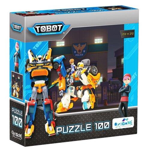 Купить Пазл Origami Тоботы Тобот Х (03573), 100 дет., Пазлы