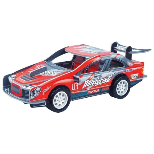 3D-пазл Pilotage 3D Гоночная машина M красная (RC39887) машина радиоуправляемая pilotage topracer xb