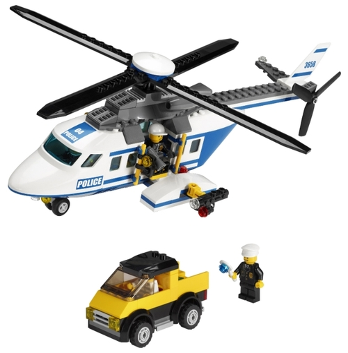 Как сделать из лего вертолёт полицейский