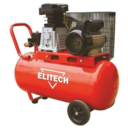 Компрессор масляный ELITECH КПР 50/360/2.2, 50 л, 2.2 кВт компрессор масляный elitech кпм 360 25 25 л 2 2 квт