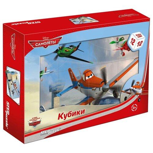 Кубики-пазлы Step puzzle Disney Самолёты 87162