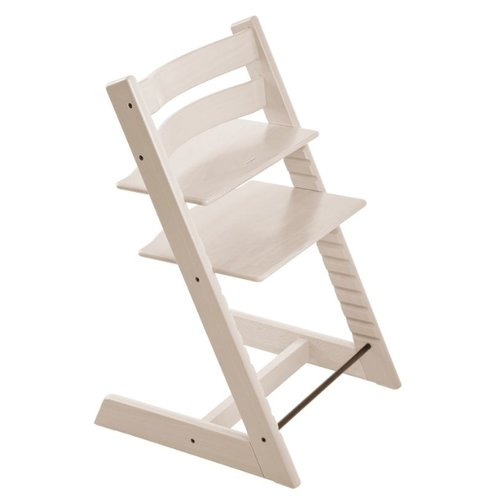 Купить Растущий стульчик Stokke Tripp Trapp из бука, whitewash, Стульчики для кормления