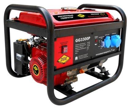 Бензиновый генератор DDE GG3300P (2800 Вт)