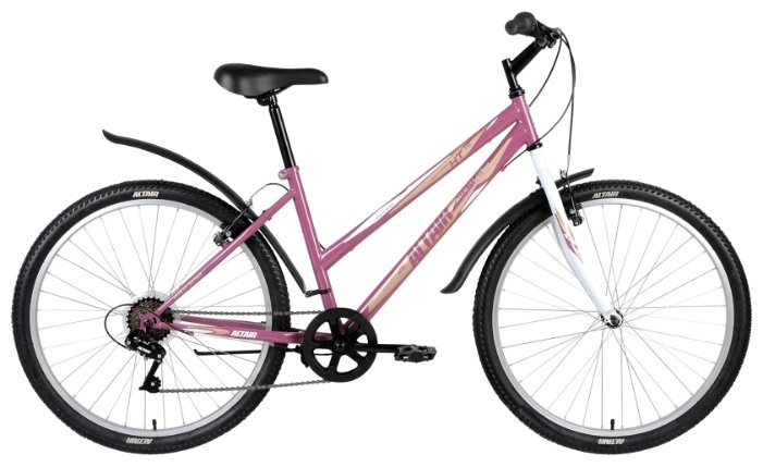 Горный (MTB) велосипед ALTAIR MTB HT 26 1.0 Lady (2018)