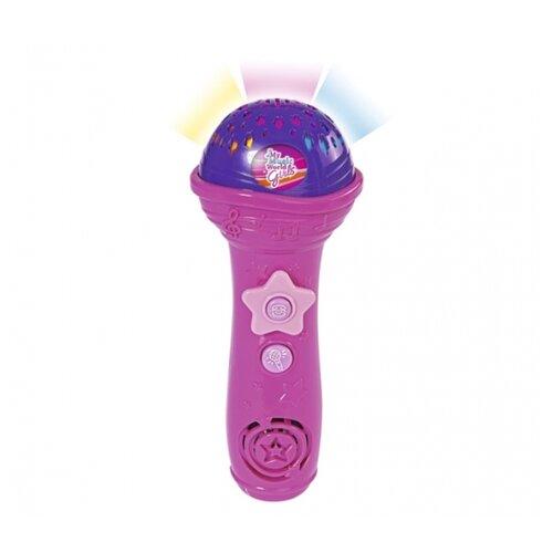 Купить Simba микрофон My Music World 6831464 розовый, Детские музыкальные инструменты