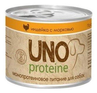 Корм для собак Vita PRO Uno Protein Индейка с морковью в желе
