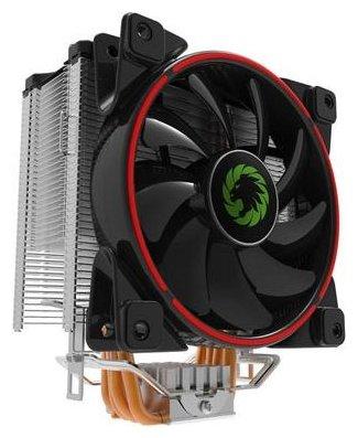 Кулер для процессора GameMax GAMMA 500 Red — купить по выгодной цене на Яндекс.Маркете
