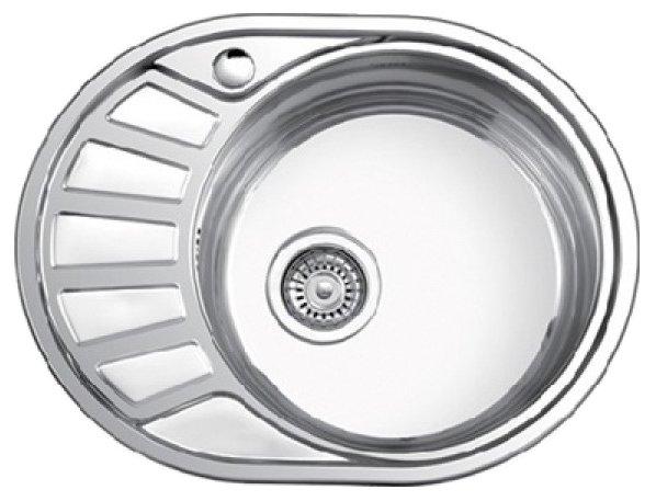 Врезная кухонная мойка Ledeme L65745-6R 57.2х44.5см нержавеющая сталь