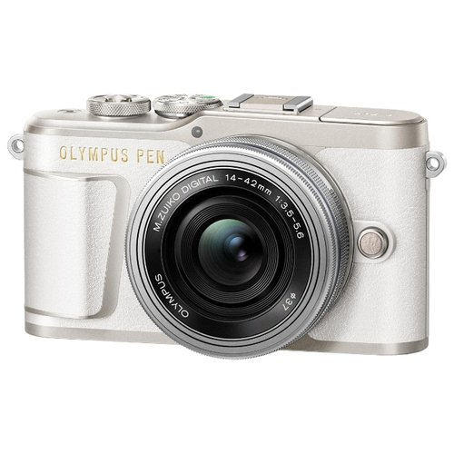 Фото - Фотоаппарат Olympus Pen E-PL9 Kit белый M.Zuiko Digital ED 14‑42mm F3.5‑5.6 EZ Pancake фотоаппарат olympus pen e pl8 kit белый 14 42mm f 3 5 5 6