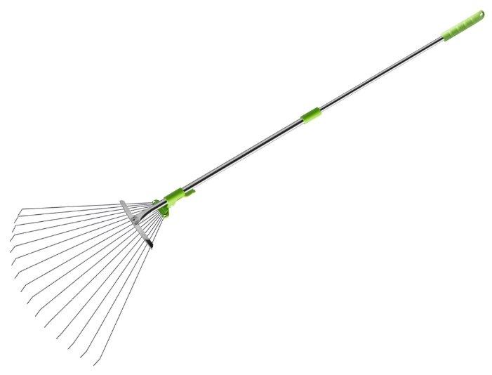 Грабли веерные Центроинструмент 0231-6 раздвижные (162 см)