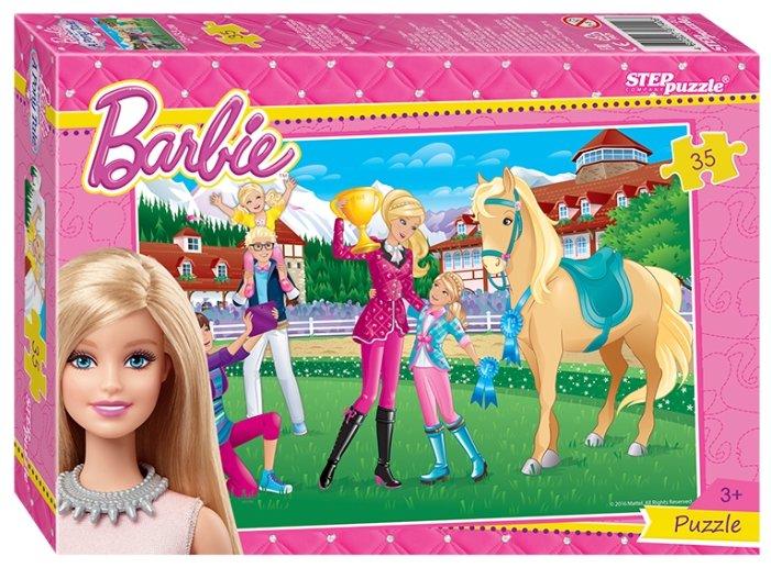 Пазл Step puzzle Mattel Барби (91140), 35 дет.