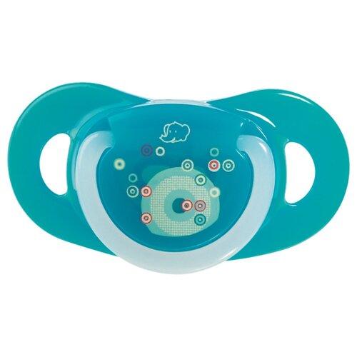 Купить Пустышка силиконовая ортодонтическая Bebe confort Natural Physio 0-6 м (2 шт) разноцветный, Пустышки и аксессуары