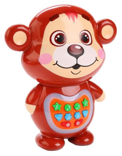 Интерактивная развивающая игрушка Умка Медвежонок-сказочник (TT621-2-R)