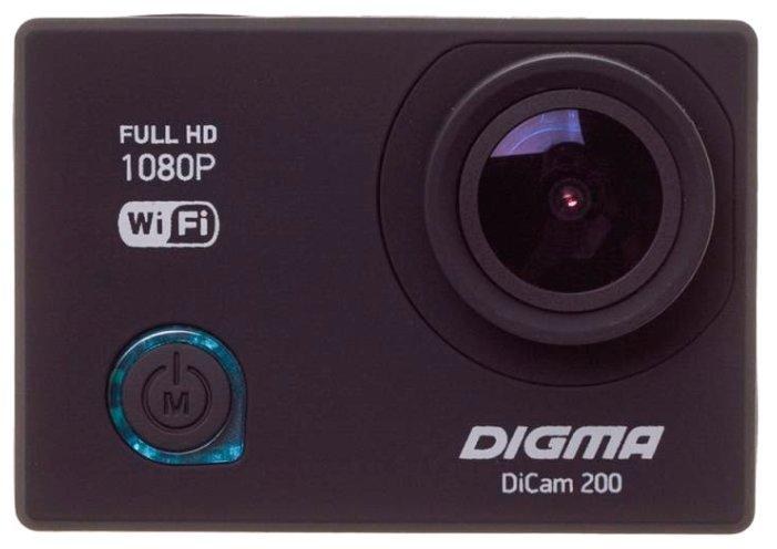 Digma Экшн-камера Digma DiCam 200