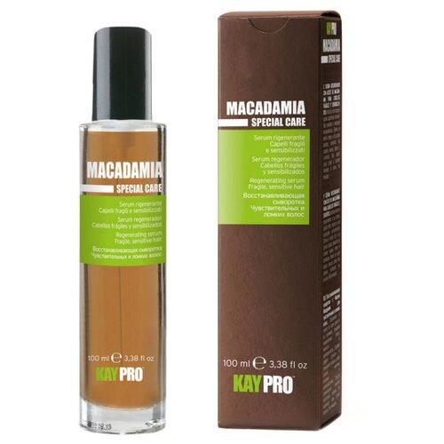 KayPro Macadamia Сыворотка для волос увлажняющая с маслом макадами, 100 мл краска для волос kaypro kaypro ka037lwbolx4