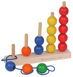 Пирамидка Краснокамская игрушка Радуга