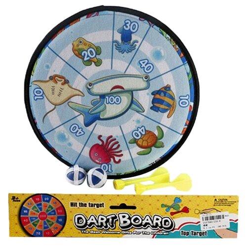 Купить Дартс Shantou Gepai Морские обитатели с шариками-липучками (338-2), Спортивные игры и игрушки