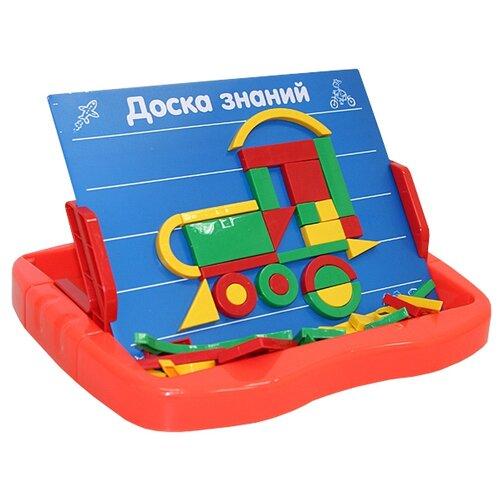 Купить Доска для рисования детская Joy Toy Доска знаний с подставкой (0709) красный/синий, Доски и мольберты